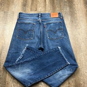 Levi's White Oak Cone Denim Wedgie Jeans SIze 30